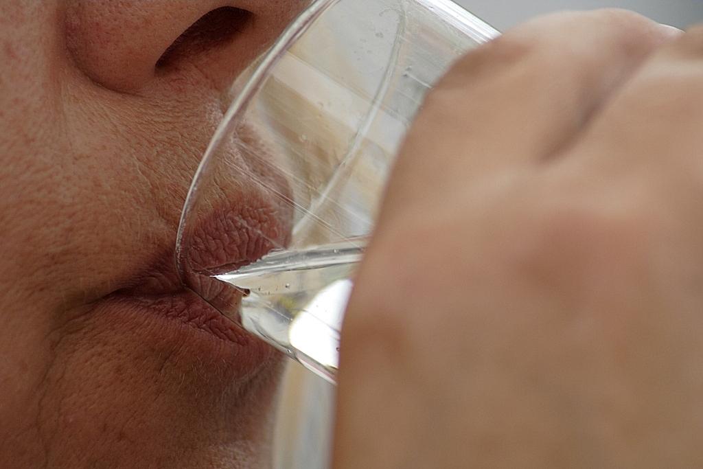 Trinkkur mit Heilwasser