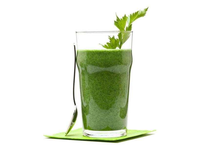 Gesunder Green Drink: Reich an Nährstoffen, Vitaminen, Antioxidantien - der ideale Gesund-und Schönmacher