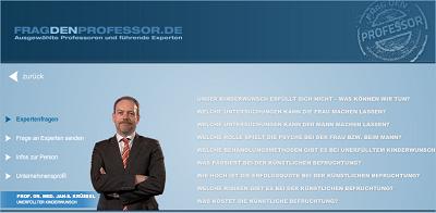apotheken-wissen.de: Frag den Professor der Universitätskliniken Düsseldorf