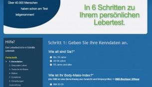 apotheken-wissen.de: Online-Test Leber und Hepatitis