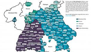 FSME-Risikogebiete: in diesen Regionen ist besondere Vorsicht geboten