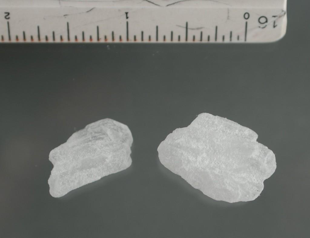 """Methylamphetamin-""""Crystals"""": So sieht die gefährliche Crystal Meth Droge aus"""