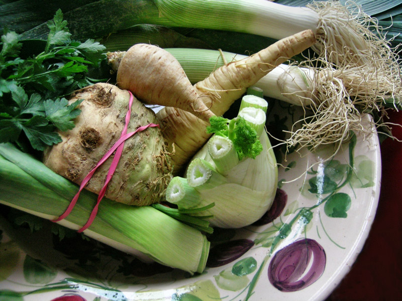 Leckeres Gemüse im Winter