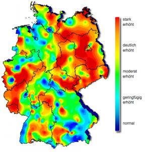 apotheken-wissen.de: Robert-Koch-Institut, Grippewelle Deutschland, KW6 2013