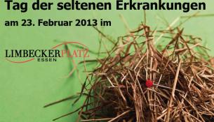 Seltene Krankheiten: Plakat des Tags der Seltenen Erkrankungen - apotheken-wissen.de