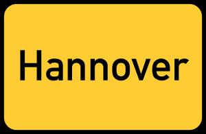 Ortseingangsschild Hannover