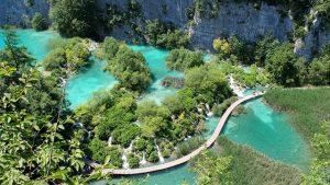 Naturschönheit Plitvice Seen