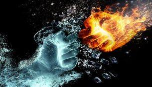 Nervenschmerzen wie Feuer und Eis