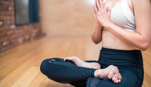 Meditation und Yoga für das Wohlbefinden