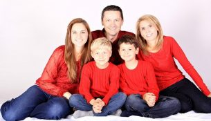 Gesunde Familie