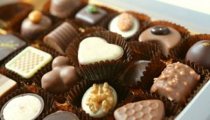Pralinen, Süßigkeiten