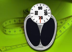 Personenwaage, Körpergwicht
