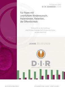 Jahrbuch des Deutschen IVF-Registers für ungewollt kinderlose Paare, Patientinnen und Patientin sowie die Öffentlichkeit